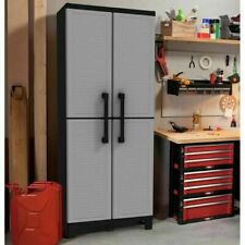 NEW KITCHEN STORAGE CABINET Pantry Cupboard Organizer Garage Tool Home Utility