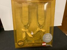 CHAMPAGNE FLUTES  WILSON   NIB WEDDING PARTY