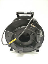 QPC Fiber Optic Tactical Cable with Schill 270 00 000 Cable Reel