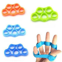 3X Hand Finger Training Strength Exerciser Trainer Grip Resistance Band Tension