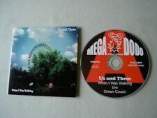US AND THEM When I Was Walking promo CD single Fruits De Mer Mega Dodo