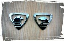 Eagle-Hawk 3D Chrome Emblem/Decal  for Car/SUV/Jeep/Duster/Scorpio/XUV (2 Pcs)