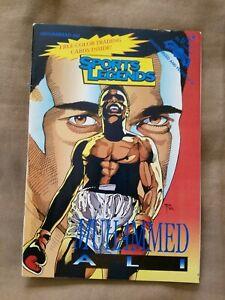 "1992 Revolutionary Comics Sports Superstars ""MOHAMMED ALI"" w/Trading Cards"