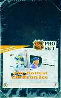 1991 Pro Set NHL Pro Set Series 1 (English) Hockey Wax Pack 36 Pack Box