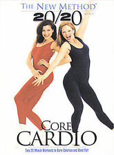 New Method - Core Cardio 20/20-DVD-2002-FITNESS-BRAND NEW-SEAL-FREE SHIP CANADA