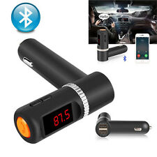 Wireless Bluetooth FM Transmitter MP3 Player Car Kit USB Charger for iPhone 6S 6