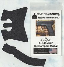 Tractiongrips brand rubber grips for Springfield XD-45 ACP Subcompact Mod2