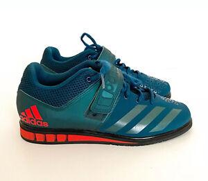 Adidas Men's Size 8 Powerlift 3.1 Petrol Night Athletic Shoes