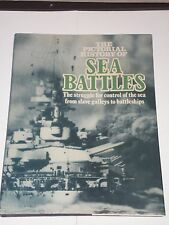 The Pictorial History of Sea Battles - Thomas Foster 1974 HB/DJ