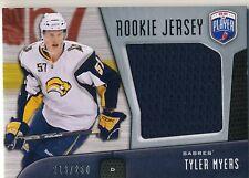 09-10 TYLER MYERS ROOKIE JERSEY /250 BAP BE A PLAYER