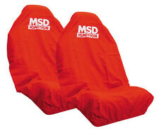 2 X MSD THROW OVER SEAT COVERS FORD FALCON AU BA BF FG GT GTP FPV PURSUIT UTE