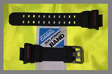 25% Off-Véritable Casio G-Shock GX-56-1A/GXW-56-1A Matt Black/Red Strap Band