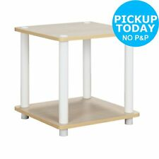 Argos Home New Verona Side Table - Light Wood