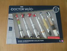 Doctor Who Sonic Screwdriver set 3rd 4th 5th 6th 7/8th 10th 11/12th UK EXCLUSIVE