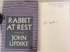 "JOHN UPDIKE ""Rabbit at Rest"" SIGNED FIRST EDITION Pulitzer Prize HC/DJ"