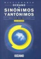 Diccionario Oceano De Sinonimos Y Antonimos (Spanish Edition)-ExLibrary