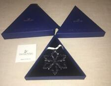 2014 Swarovski Crystal Annual Xmas Star Snowflake Ornament Limited Edition Iob
