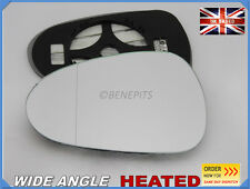 Wing Mirror Glass For Seat Ibiza 2012-2017 WIDE ANGLE HEATED Left Side #1050