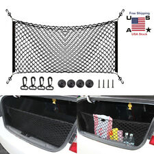 Car Auto Rear Trunk Back Seat Elastic String Net Mesh Storage Bag Pocket Cage US