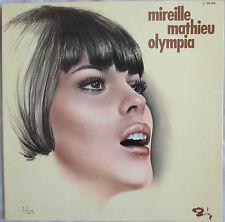 """MIREILLE MATHIEU - LP """"OLYMPIA"""" POCHETTE ASLAN - EXCELLENT ETAT GENERAL"""