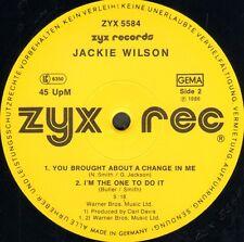 JACKIE WILSON - Petite Eriu - 1986 - ZYX - ZYX 5584 - Ger