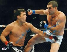 LYOTO MACHIDA SHOGUN RUA SIGNED AUTO'D 11X14 PHOTO PSA/DNA COA AC29466 UFC 113