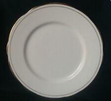 DUCHESS ASCOT LUNCHEON PLATE FINE BONE CHINA STARTER SALAD PLATE WHITE AND GOLD