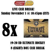 19-20 UD ULTIMATE 8 (EIGHT) BOX CASE BREAK #1995 - New York Rangers