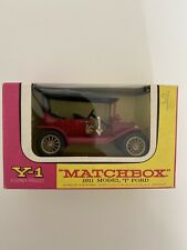 Matchbox Models of Yesteryear: Y-1 Ford T-Modell, 1911, OVP