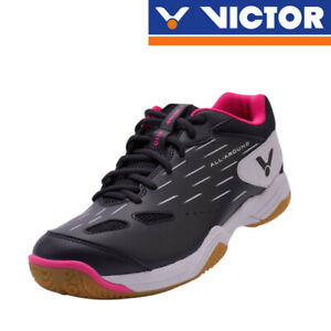 VICTOR Unisex A110 CA (Anthracite/ Pearly White) /Badminton Court Shoes