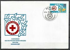Germany (East) DDR GDR 1987 FDC German Red Cross Congress Dresden