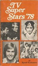 tv super stars '78 paperback Ronald Lackmann 1977