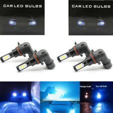 4x Combo 9005 + 9006 CSP LED Headlights Bulb High Low Beam Kit 7000LM 8000K Lamp