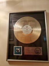 Van Halen Women And Children Riaa Platnium Record