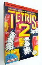 Nintendo NES Tetris 2 Ntsc ► Near mint ◄