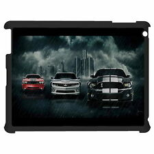 Three Car In Rainstorm Tablet Case Cover For Apple Google Samsung