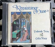 Renaissance Muse Deborah Friou Celtic Harp Music CD