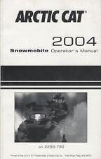 2004 Arctic Cat Snowmobile Operator'S Manual P/N 2256-790 (399)