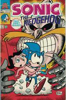 SONIC THE HEDGEHOG #1 NM 1993 Sega Mini Series ARCHIE COMICS Premiere Issue