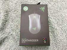 Razer Deathadder Elite Gaming Mouse New In Sealed Box