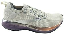 Brooks Ricochet 2 DNA AMP Womens Running Shoes Grey Grape Size 9 M 1203031B026