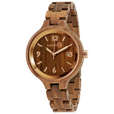 Earth Nadol Eco-Friendly Green Wood Ladies Watch EW2004