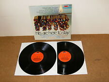 Double LP (Germany press) - Various artists - HITS ARE HERE TO STAY