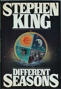 Stephen King • DIFFERENT SEASONS • 1st Edition HC • Viking 1982