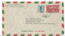 Mexico Airmail Cover to Sr. Cordell Hull, Secretary of State FDR Administration*