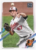 John Means 2021 Topps Series 1 #272 Baltimore Orioles baseball card