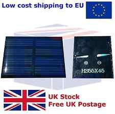 Panel Solar De 2V - 150mA. para arreglos de discos de Led, Solar, etc.