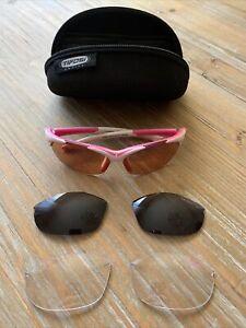 tifosi optics womens cycling sport sunglasses Interchangeable 3 Lens Pack