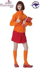 Ladies VELMA Scooby Doo Adult Fancy Dress Costume Size 8 - 12 AU
