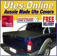 Nissan Navara STR Dual Cab with Factory Sports Bars Nov2001 - 2008 Tonneau Cover